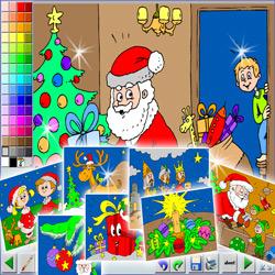 7 Coloriages En Ligne Pour Noel